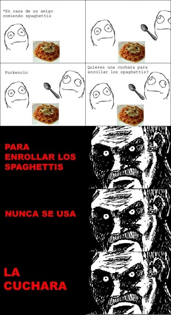 Mirada_fija - ¿Cuchara para los espaguetis?