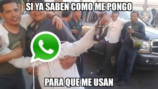 Meme_otros - Whatsapp siempre se la lía para estas fechas