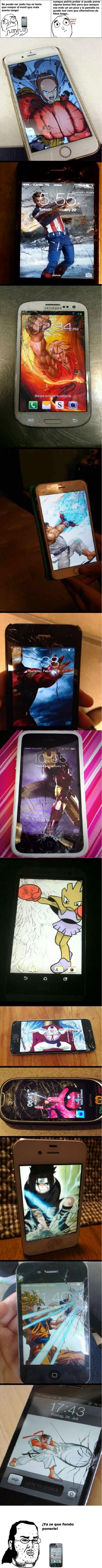 Friki - Si se te rompe la pantalla del móvil, ¡ya sabes qué hacer!