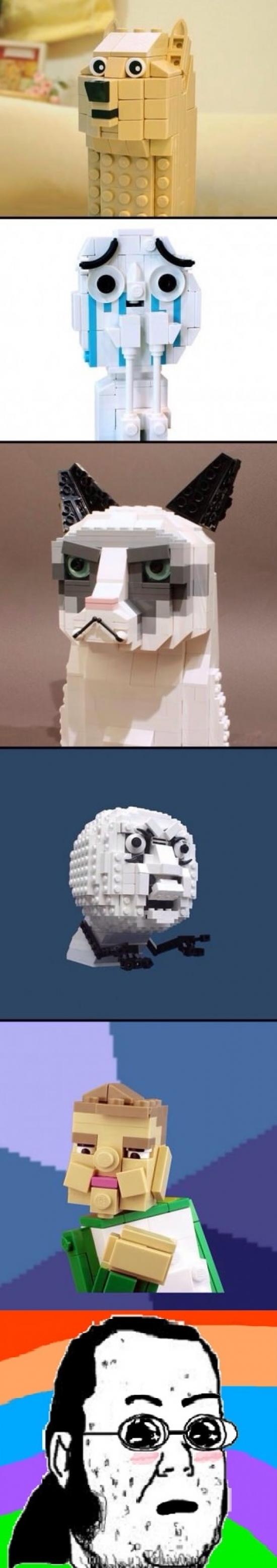 Amazed - El día que los memes se cruzaron con el Lego