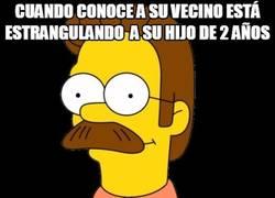 Enlace a Ned Flanders se pasa de bueno