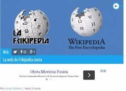 Enlace a Adiós Frikipedia