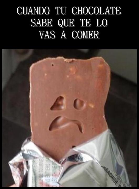 Otros - Chocolate más expresivo de lo que te gustaría