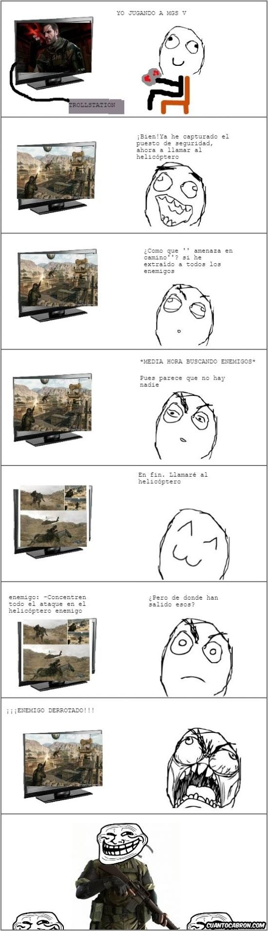 Ffffuuuuuuuuuu - Metal Gear Troll