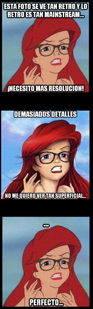 Ariel_hipster - Ser hipster no es tan sencillo