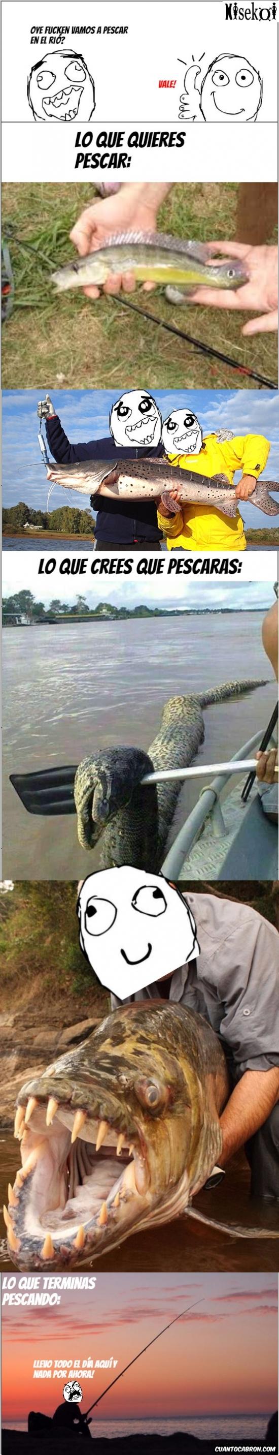 Ffffuuuuuuuuuu - Expectativas de pesca con amigos