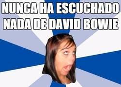 Enlace a Facebook ahora mismo a reventar de fans de David Bowie