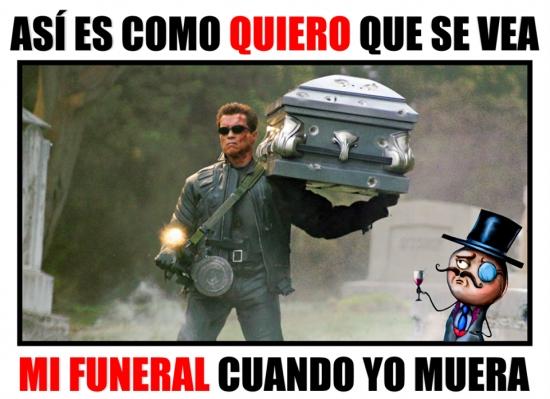 Otros - No se me ocurre un funeral mejor