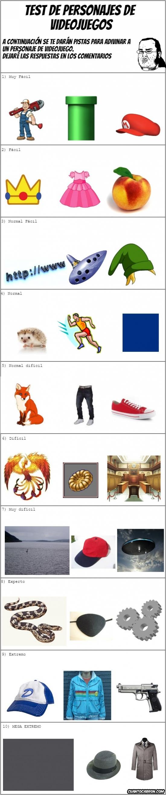Mix - ¿Podrás adivinar a estos personajes de videojuegos?