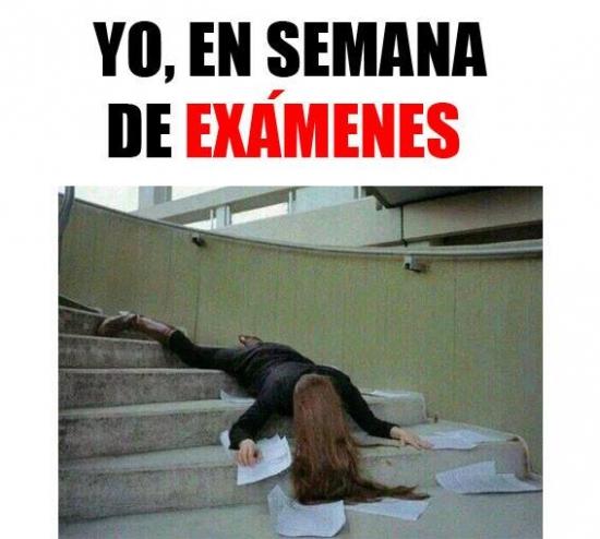 Meme_otros - Esa semana infernal de exámenes que te deja acabado