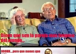 Enlace a ¿La pareja más longeva del mundo?