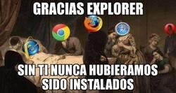 Enlace a El día que Internet Explorer nos deje...