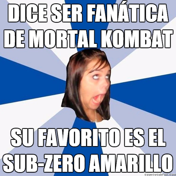 Amiga_facebook_molesta - Queriendo pasar por gamer