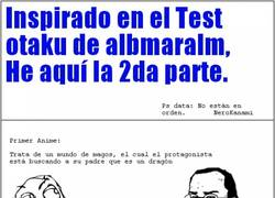 Enlace a Segundo Test Otaku