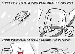 Enlace a Maneras de conducir en invierno sobre la nieve
