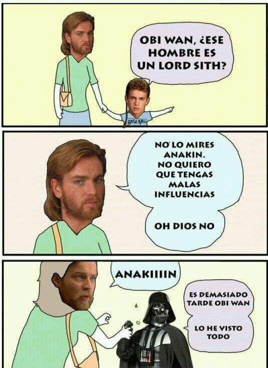 Otros - ¡No mires al Lord Sith!