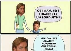 Enlace a ¡No mires al Lord Sith!