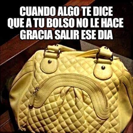Meme_otros - Siento que mi bolso peligra si salgo...