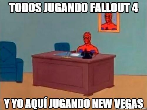 Spiderman60s - El Fallout 4 es demasiado mainstream