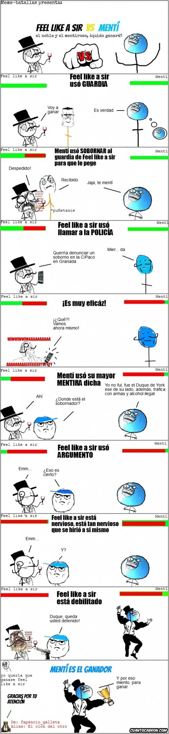 Mix - Feel like a Sir vs. Mentí, ¿quién ganará?
