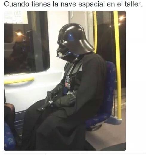Meme_otros - Darth Vader está de capa caída
