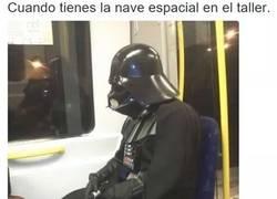 Enlace a Darth Vader está de capa caída