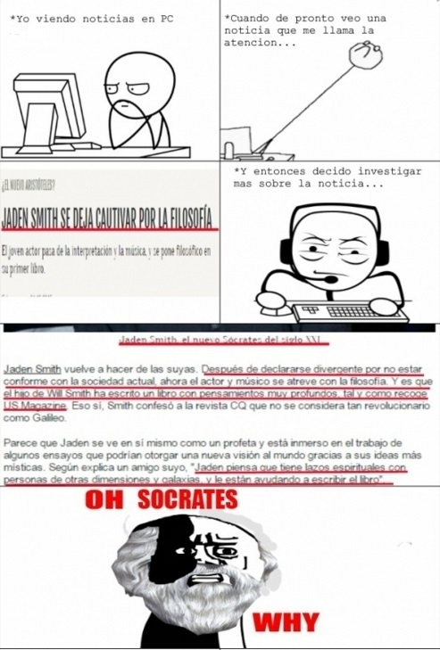 Oh_god_why - Sócrates se retuerce en su tumba al ver esto