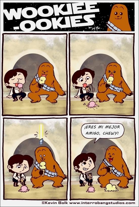 Otros - Chewbacca es solidario y empático