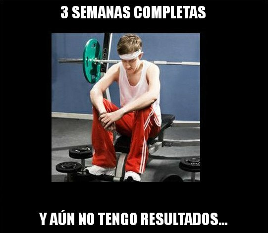 Meme_otros - Típico cuando vas al gimnasio...