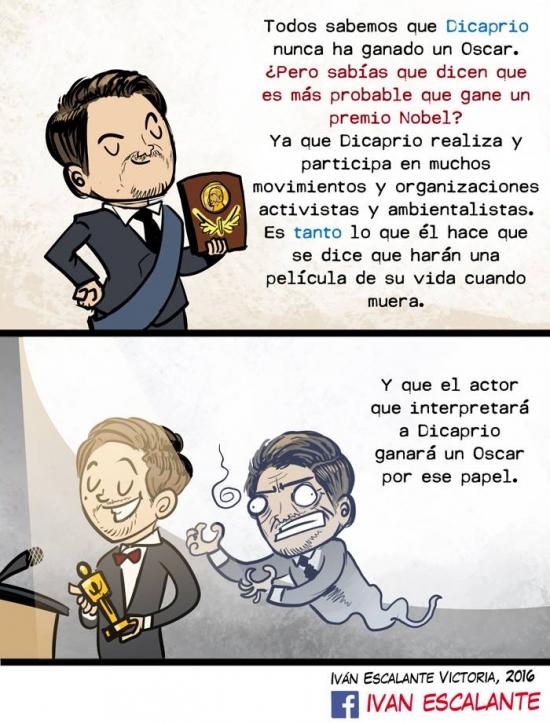 Ffffuuuuuuuuuu - Leonardo Di Caprio y su Oscar :(