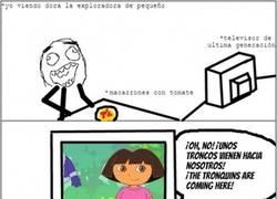 Enlace a Dora elige la peor hora para jugar