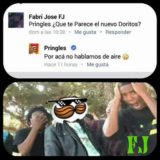 Meme_otros - Pringles se marca un turn down for what