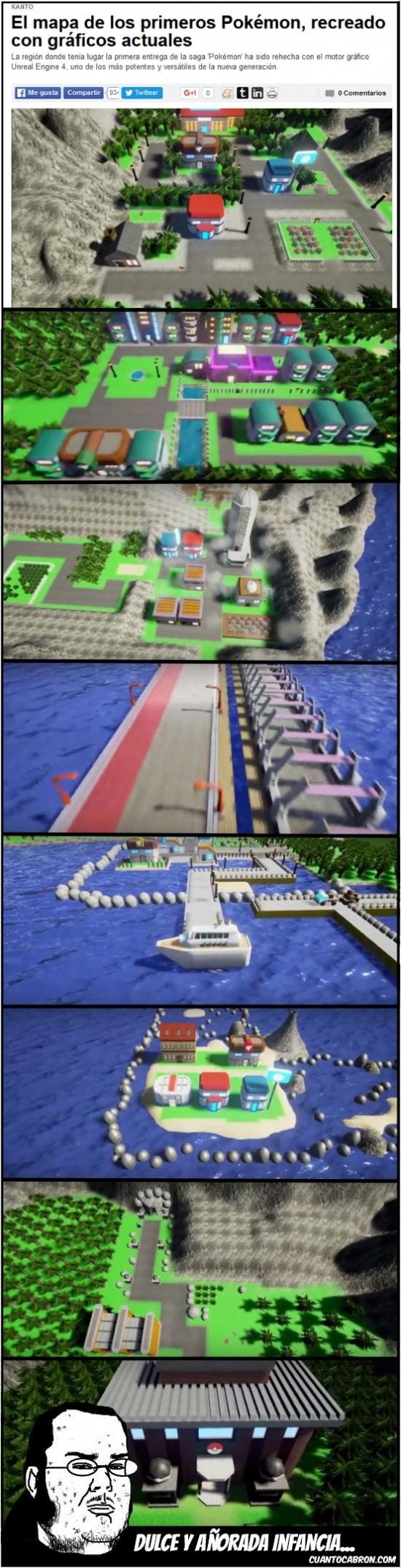 Friki - Kanto, en Unreal Engine 4