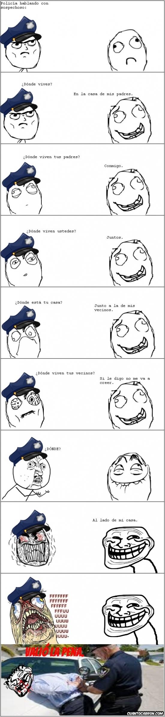 Mix - Cuando le buscas las cosquillas a un policía puede terminar así