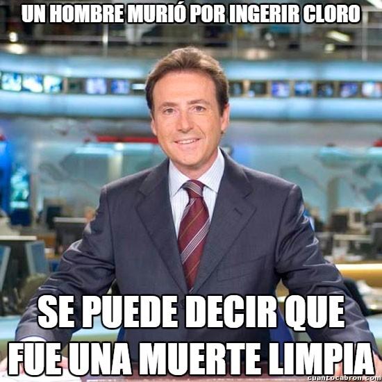 Meme_matias - Limpio hasta en la muerte...