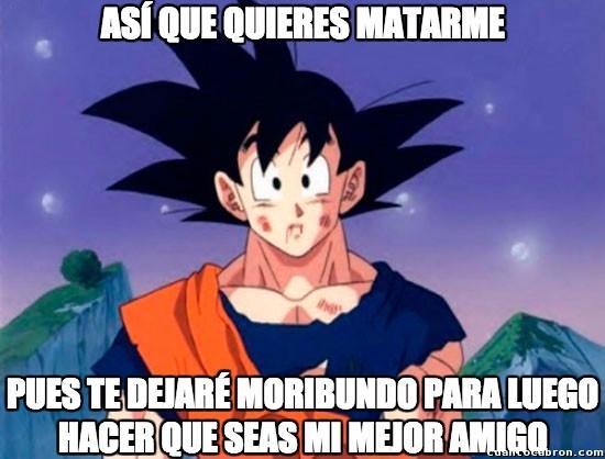Son_goku - La lógica de Goku