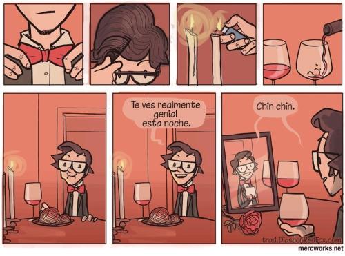 Otros - Cenando al mejor estilo Forever Alone