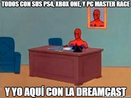 Spiderman60s - ¿Y lo épica que es la Dreamcast, qué, eh?