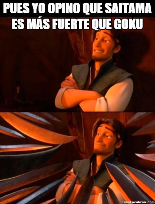 Lluvia_de_espadas - ¡Nadie es más fuerte que Goku!