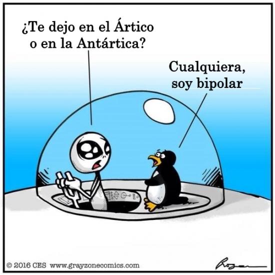 Otros - ¿Ártico o Antártida? ¿Norte o Sur?