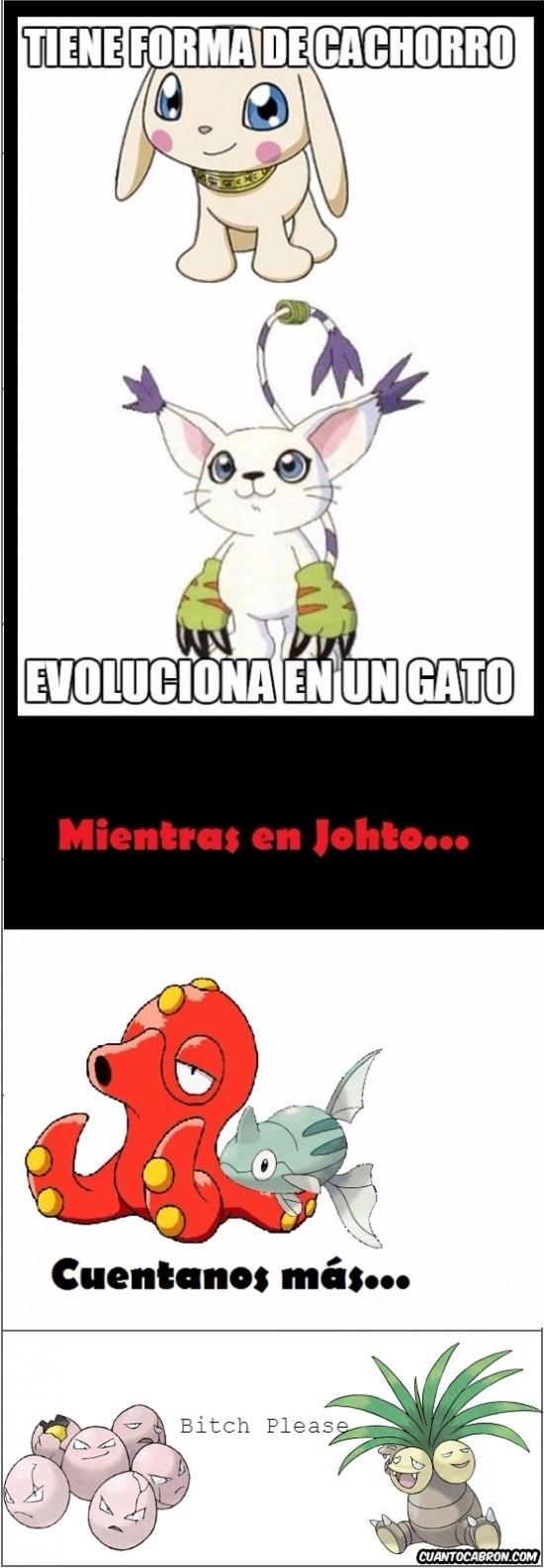 Otros - Evoluciones de Pokémon muy raras