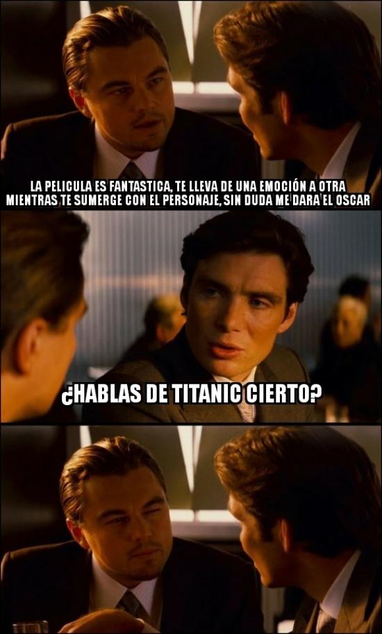Meme_otros - Sin duda la mejor película de DiCaprio