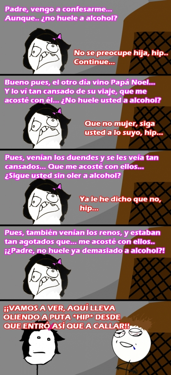 Pokerface - Ese olor a alcohol insoportable...