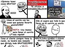 Enlace a Trollscience: cómo tener cosas gratis