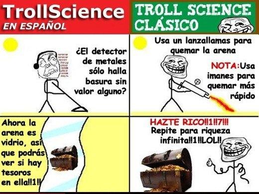 Trollface - Trollscience: cómo ganar riqueza infinita