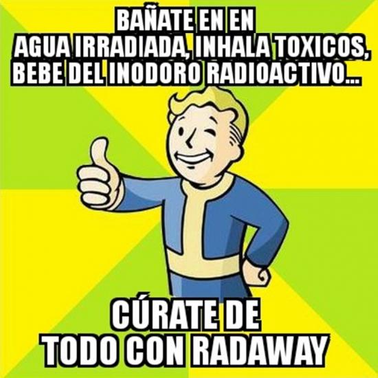 Meme_otros - ¿Radiación peligrosa? Nunca en este juego