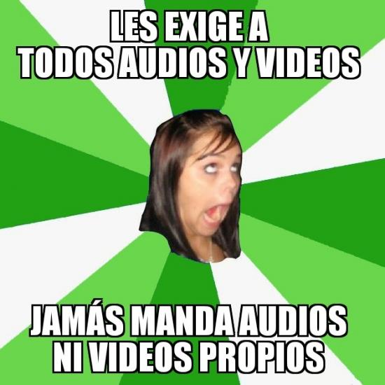 Amiga_facebook_molesta - Esa amiga exigente... pero tímida.