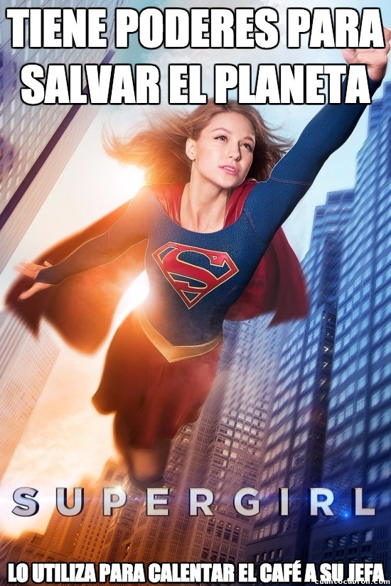 Meme_otros - El empleo precario para un Superhéroe