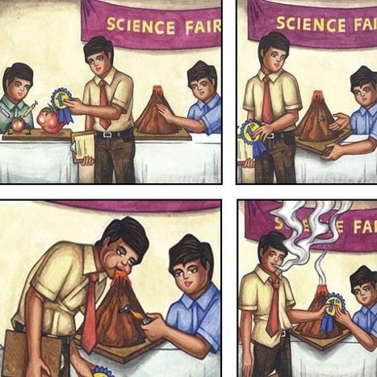 Otros - Hoy, en el concurso de ciencias...