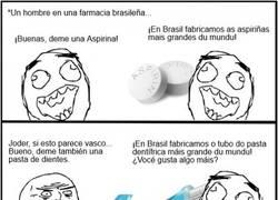 Enlace a Un gran problema lo de comprar en una farmacia brasileña